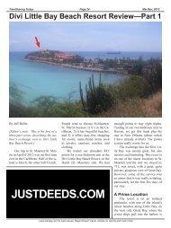 Divi Little Bay Beach Resort Review—Part 1 - Timesharing Today