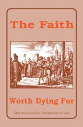 The Faith Worth Dying For - El Cristianismo Primitivo