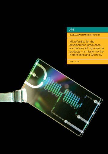 Microfluidics MR Cover - Technology for Industry