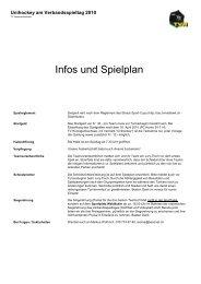 Infos und Spielplan - TV Herzogenbuchsee