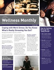 Coping with Stress: Do You Know What's Really ... - ConnectiCare