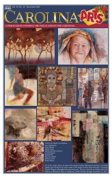 Vol. 15, No. 12 December 2011 - Carolina Arts