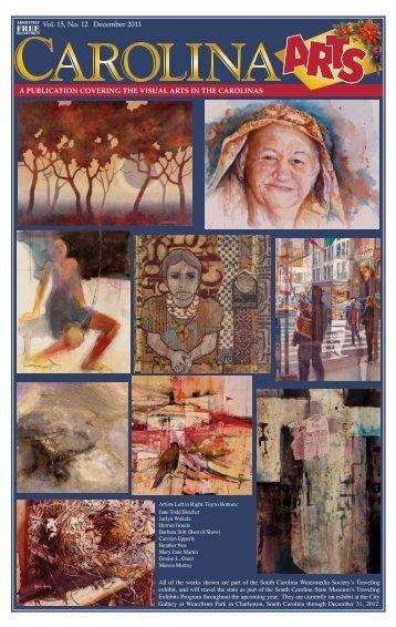 Vol. 15, No. 12 December 2011 - Carolina Arts