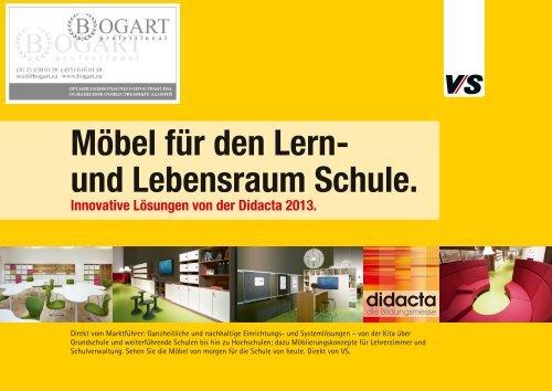 Möbel für den Lern- und Lebensraum Schule. - Bogart