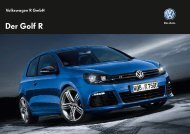 Golf R-Line Katalog (pdf 1,5MB) - MAX-Gruppe