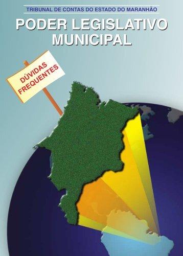 poder legislativo municipal poder legislativo municipal - Tce.ma.gov.br