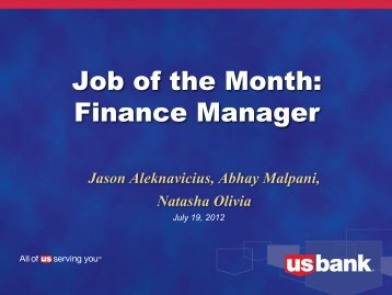 Job of the Month: Advertising/Marketing Manager Job of the Month ...