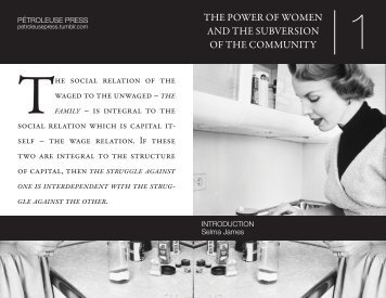 THE POWER OF WOMEN AND THE SUBVERSION ... - Zine Library
