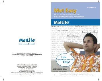 Met Easy Brochure
