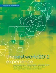 thepestworld2012 experience