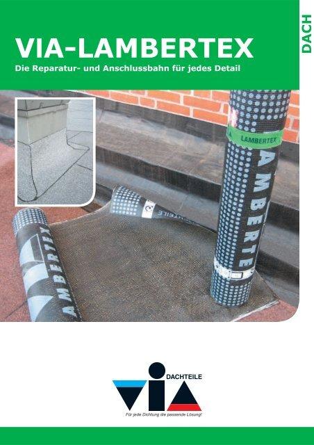 V A-LAMBERTEX l Die Reparatur - VIA-DACHTEILE