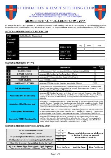 membership form template doc - students quality club membership open anna university