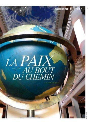 La paix au bout du chemin - Patrimoine Industriel Wallonie-Bruxelles