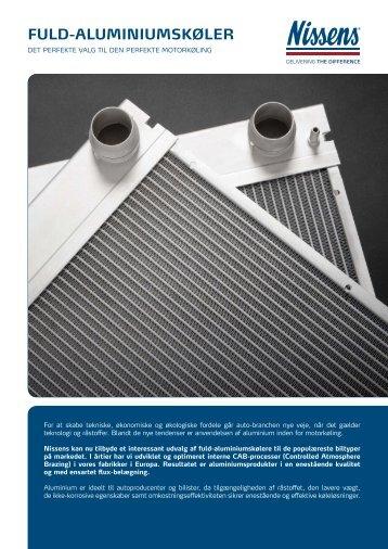 Fuld-aluminiumskøler - Nissens