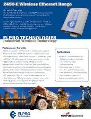 ELPRO TECHNOLOGIES - TR instruments