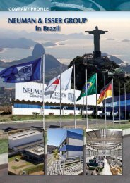 NEUMAN & ESSER GROUP in Brazil