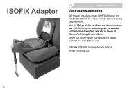 ISOFIX Adapter - Britax Römer