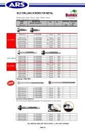 Buildex ZINC ALLOY-3 FIBRE CEMENT SCREWS 9-10x32mm Star Head 100Pcs Or 500Pcs