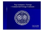 Commercial Towage Contracts - VHT