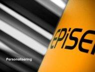 Skapa större intresse och engagemang med ... - EPiServer World