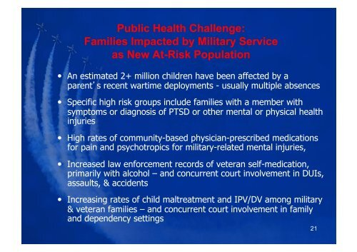Psychotropic Medication Issues in Military & Veterans - USC Gould ...