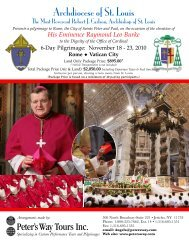 Download Brochure - Archdiocese of St. Louis