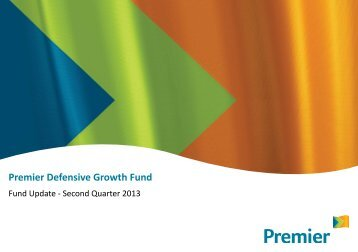 Premier Defensive Growth Fund - Premier Asset Management