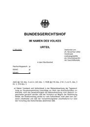 BGH-Urteil vom 25.11.2002 (Az. II ZR 49/01) - wengert-gruppe.de