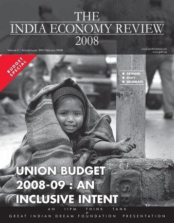 [Feb 2008, Volume V Annual Issue] Pdf File size - The IIPM Think Tank