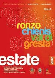 Estate a Ronzo Chienis - Azienda per il Turismo Rovereto e ...