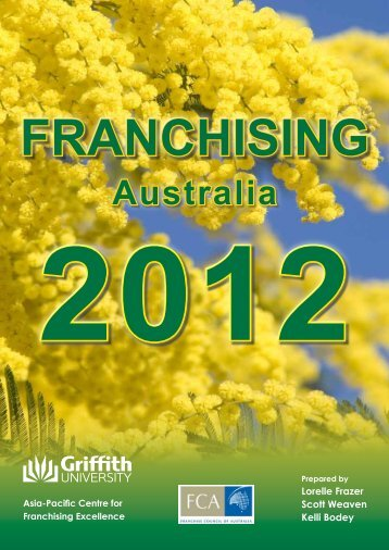 Franchising Australia 2012 report - Thewebconsole.com