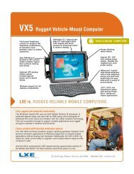 VX5 Rugged Vehicle-Mount Computer - BCC Distribution