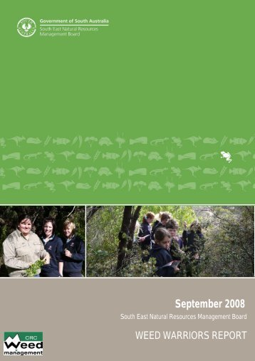 September 2008 - South East Natural Resources Management ...