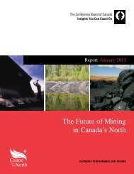 The Future of Mining in Canada's North - NWT & Nunavut Chamber ...