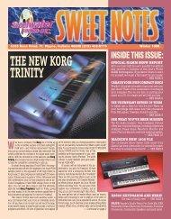 THE NEW KORG TRINITY - Sweetwater.com