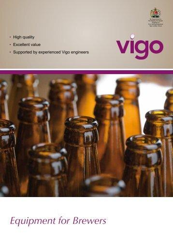 Equipment for Brewers - Vigo Ltd