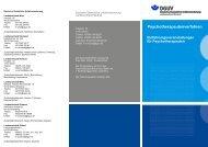 Flyer (PDF, 144 kb) - Psychotherapeutenkammer Berlin