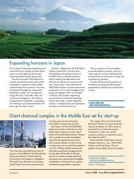 Shell Global Solutions - Impact Online 2008 Issue 2 - Latest News
