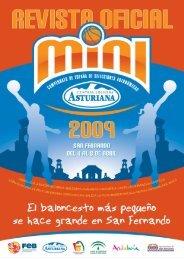 Revista Oficial del Campeonato de España Mini 09 - Federación ...