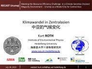 contact: kurt.roth@iup.uni-heidelberg.de - recast urumqi