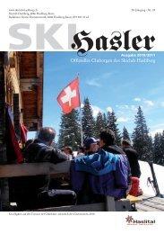 Unsere Region. Unsere Bank. - Skiclub Hasliberg
