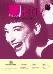 Download Heft 45 - Frauen Aktiv in Baden-Württemberg