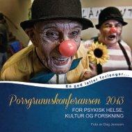 Se hele programmet her (pdf) - Porsgrunn Kommune
