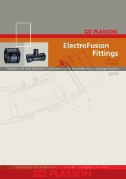 ElectroFusion Fittings - Incledon