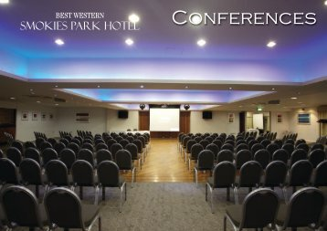 Meetings and Conferences at Best Western Smokies Park Hotel