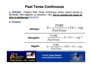 Past Tense Continuous - PRIETENUL cel Mare – Big BUDDY