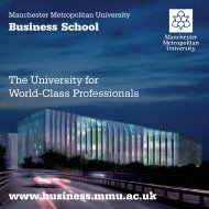 Business School The University for World-Class ... - Study in the UK