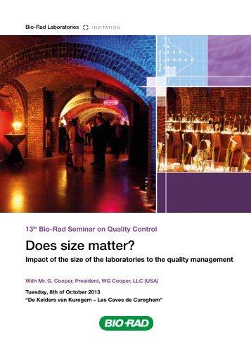 Does size matter? - QCNet