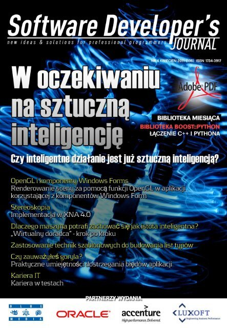 Sztuczna Inteligencja Software Developers Journal