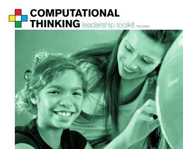 Computational Thinking Leadership Toolkit - ISTE